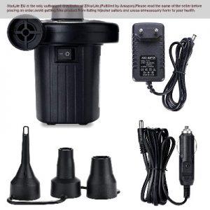 Inflador eléctrico portatil
